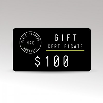Restaurant le H4C 100 Gift Certificate