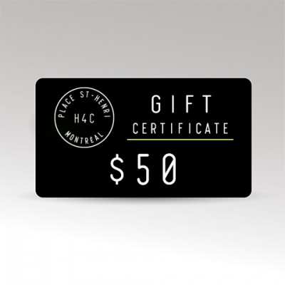 Restaurant le H4C 50 Gift Certificate